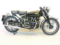 1950 Vincent Black Shadow Series C