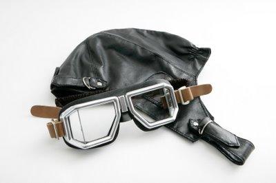 Early Motorcycle Helmet