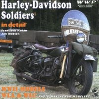 Harley-Davidson Soldiers In Detail WWII Models WLA & WLC