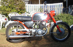 1963 Honda Superdream