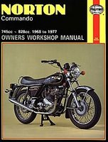 Norton Commando Owners Workshop Manual 1968-1977