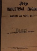 Jeep Industrial Engine