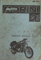 Moto Morini 3 1/2 Service Manual