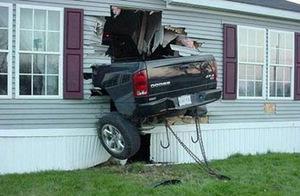 missed the garage