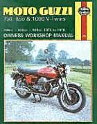 Moto Guzzi 750, 850 And 1000 V Twins Owners Workshop Manual