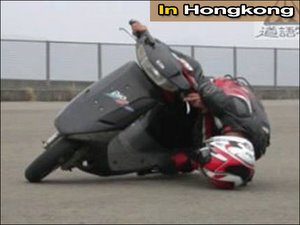 motorcycle mishap
