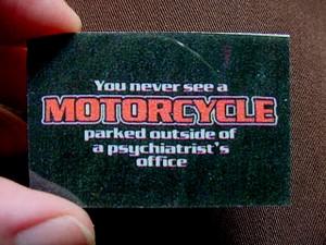 Motorcycle Psychiatrist