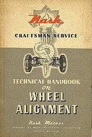 Nash Technical Handbook On Wheel Alignment