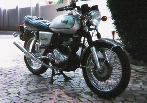 1974 Norton Commando Interstate