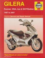 Gilera Runner, DNA, Ice And SKP/Stalker Service And Repair Manual