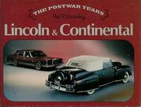 Lincoln & Continental The Postwar Years