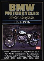BMW Motorcycles Gold Portfolio 1971 - 1976