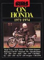 Cycle World On Honda 1971-1974