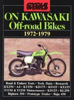 Cycle World On Kawasaki Off-Road Bikes 1972-1979