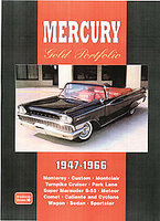 Mercury Gold Portfolio 1947-1966