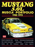 Mustang 5.0L Muscle Portfolio, 1982-93