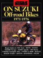Cycle World On Suzuki Off-Road Bikes 1971-1976
