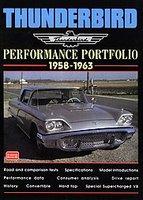Thunderbird Performance Portfolio 1958-1963