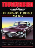 Ford Thunderbird Performance Portfolio 1964 -1976