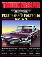Ford Thunderbird Performance Portfolio 1964 -1976