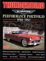 Ford Thunderbird Performance Portfolio 1955 -1957
