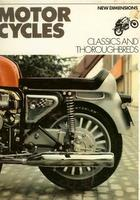 Motorcycles: Classics And Thoroughbreds