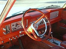 Super Wagoneer Interior