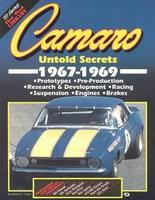 Camaro: Untold Secrets 1967-1969
