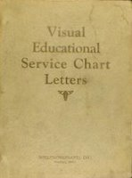 Willys-Overland Visual Education Service Chart Letters