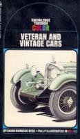 Veteran And Vintage Cars