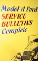 Model A Ford Service Bulletins