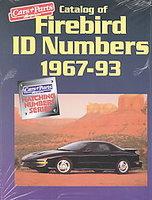 Catalog Of Firebird ID Numbers 1967-1993