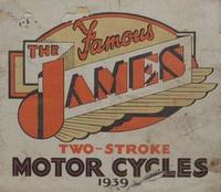 The James Two-Stroke Motor Cycles 1939