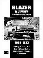Chevy Blazer And Jimmy Limited Edition Extra 1969-1982