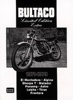 Bultaco Limited Edition Extra 1971-1979