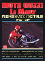 Moto Guzzi Le Mans Performance Portfolio 1976-1989