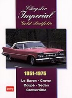 Chrysler Imperial Gold Portfolio 1951-1975