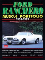 Ford Ranchero Muscle Portfolio 1957 - 1979